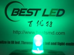深圳F5雾状绿色灯珠0.2w